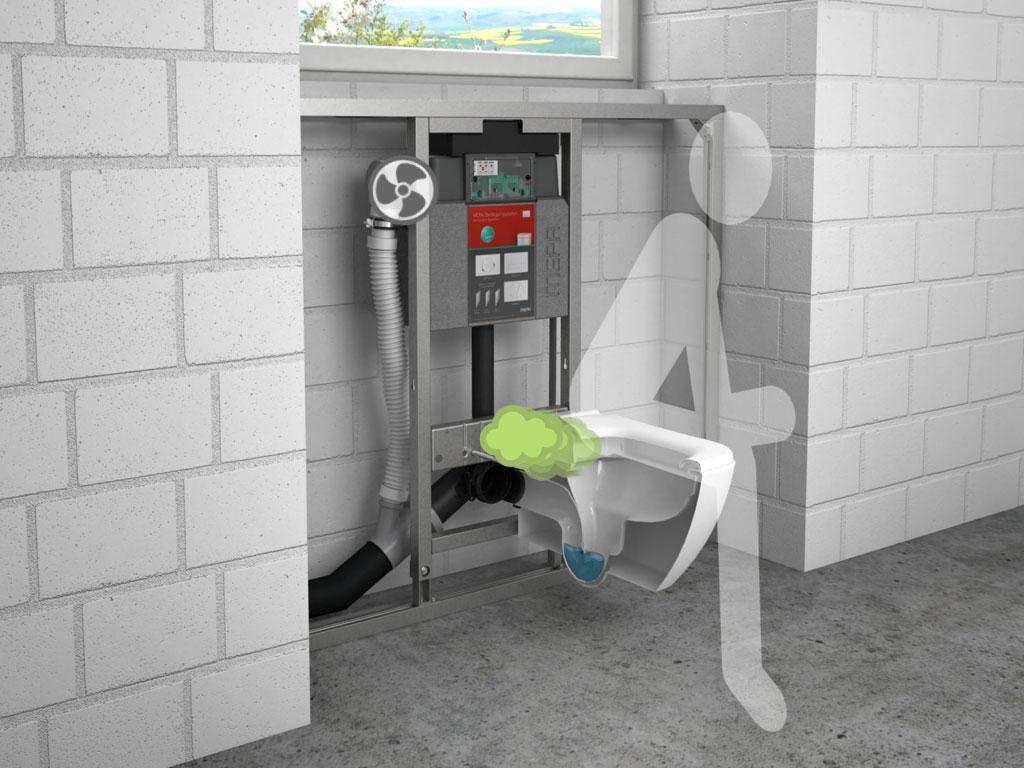 Extrem Toilettenlüftung KD97