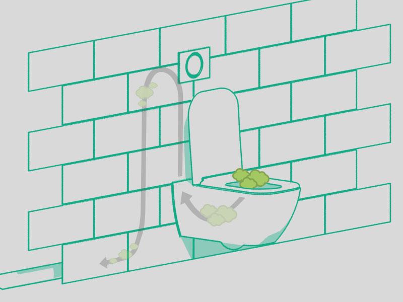 toilettenl ftung. Black Bedroom Furniture Sets. Home Design Ideas